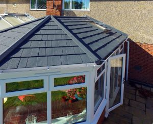 Grey Tiled Roof Conservatory