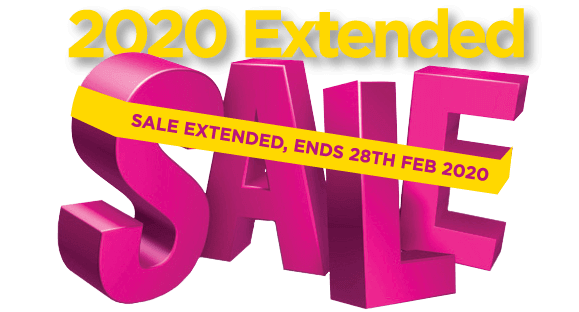 Extended 2020 Sale